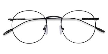 Black Novel -  Metal Eyeglasses