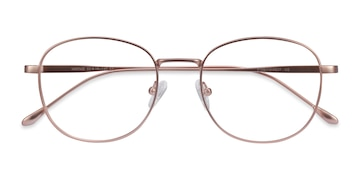 Rose Gold Vantage -  Vintage Metal Eyeglasses