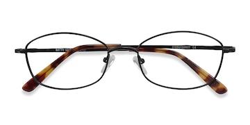 Black Betty -  Metal Eyeglasses