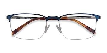 Blue Valery -  Metal Eyeglasses