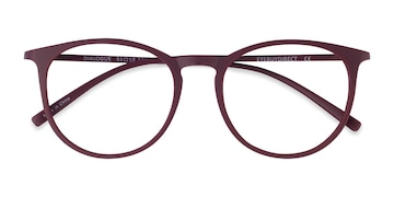 Aubergine Dialogue -  Fashion Plastic Eyeglasses