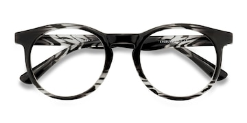 Black clear Thrill -  Plastic Eyeglasses