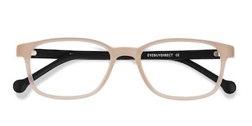 Matte Clear Posie -  Plastic Eyeglasses