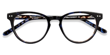 Blue Floral Notting Hill -  Fashion Acetate Eyeglasses