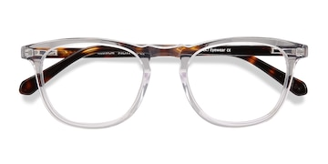 Clear Illusion -  Vintage Acetate Eyeglasses
