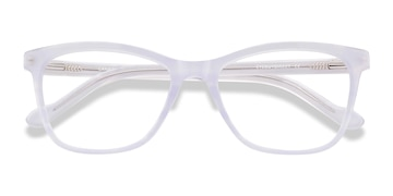 Clear Purple Cannes -  Colorful Acetate Eyeglasses