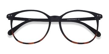 Black Tortoise Lucia -  Plastic Eyeglasses