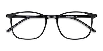 Black Trenton -  Plastic Eyeglasses