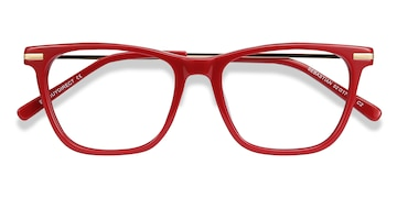 Burgundy Sebastian -  Colorful Acetate Eyeglasses