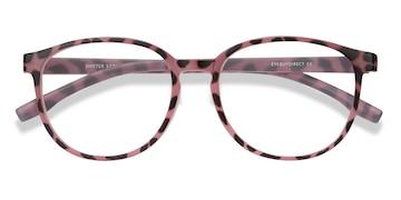 Pink Tortoise Shifter -  Plastic Eyeglasses