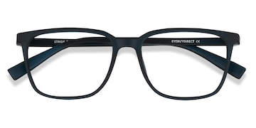 Navy Stride -  Plastic Eyeglasses