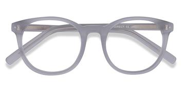 Matte Clear Primrose -  Acetate Eyeglasses