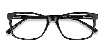 Black Annett -  Acetate Eyeglasses