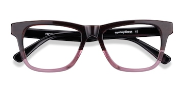 Brown Purple Feeling -  Acetate Eyeglasses