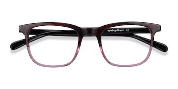 Brown Purple Found -  Acetate Eyeglasses