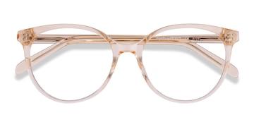 Clear Melon Nala -  Fashion Acetate Eyeglasses