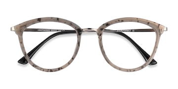 Speckled Gray Lightworks -  Metal Eyeglasses