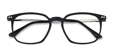 Matte Black Ghostwriter -  Metal Eyeglasses