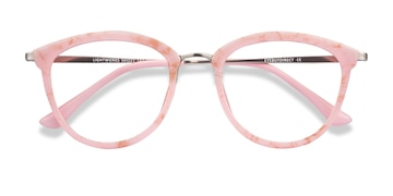Pink Lightworks -  Colorful Metal Eyeglasses