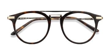 Tortoise Alba -  Acetate Eyeglasses