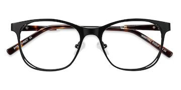 Black Nightfall -  Classic Acetate Eyeglasses