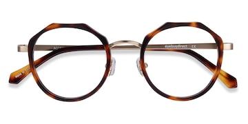 Tortoise Accent -  Vintage Acetate Eyeglasses
