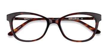 Tortoise Ripple -  Acetate Eyeglasses