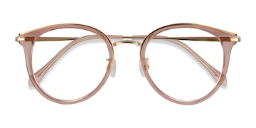Pink Hollie -  Colorful Metal Eyeglasses