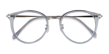Blue Hollie -  Colorful Metal Eyeglasses