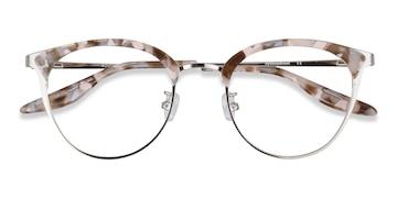 Floral Silver Bouquet -  Vintage Acetate Eyeglasses