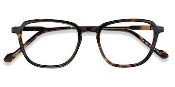 Tortoise The Fan -  Acetate Eyeglasses