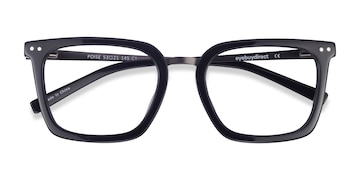 Black Poise -  Acetate Eyeglasses