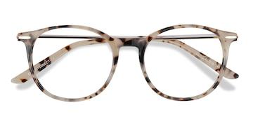 Ivory Tortoise Quill -  Vintage Acetate Eyeglasses