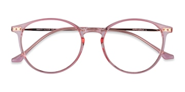 Rose Gold Amity -  Metal Eyeglasses
