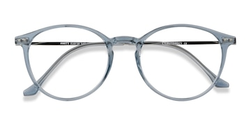 Blue Amity -  Metal Eyeglasses