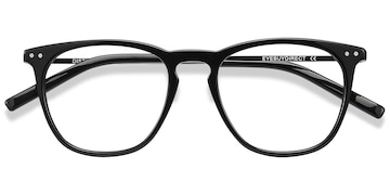 Black Distance -  Acetate Eyeglasses