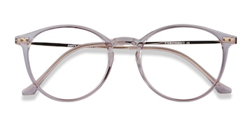 Purple Amity -  Metal Eyeglasses