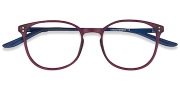 Purple Spoken -  Metal Eyeglasses