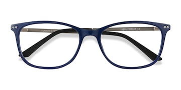 Blue Clarity -  Metal Eyeglasses