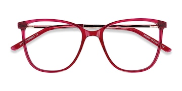 Raspberry Aroma -  Colorful Acetate Eyeglasses