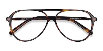Warm Tortoise Viento -  Metal Eyeglasses