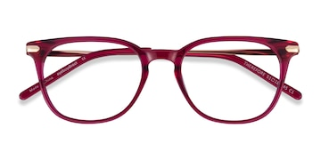 Raspberry Therefore -  Colorful Acetate Eyeglasses