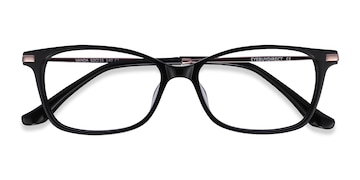 Black Vanda -  Acetate Eyeglasses