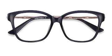 Dark Blue Ouro -  Colorful Acetate Eyeglasses