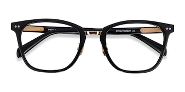 Black Biblio -  Acetate Eyeglasses