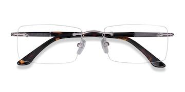 Light Gunmetal Orion -  Metal Eyeglasses