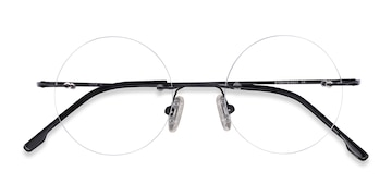 Black Altus -  Metal Eyeglasses