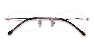 Purple Create -  Colorful Metal Eyeglasses