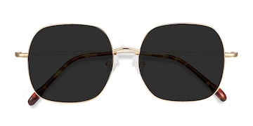 Golden Sun Movement -  Vintage Metal Sunglasses