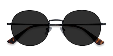 Black Solbada -  Metal Sunglasses